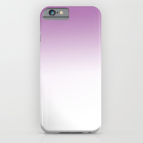 purple and white ombre iPhone & iPod Case
