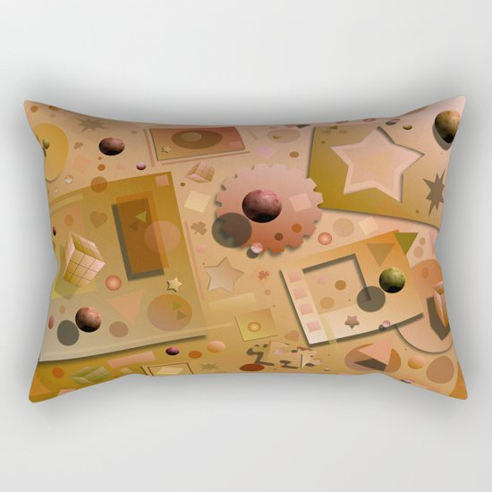 Digital Playground Rectangular Pillow