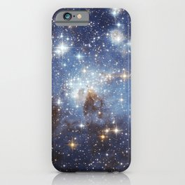 Hubble Space Telescope - Large and small stars in harmonious coexistence (2006) iPhone Case