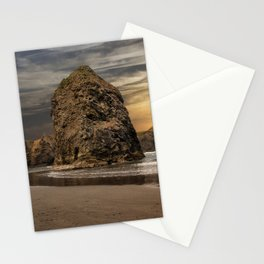Sea Stacks at Sundown Stationery Cards