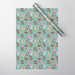 Animal Crossing Wrapping Paper