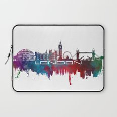 London skyline city blue  Laptop Sleeve