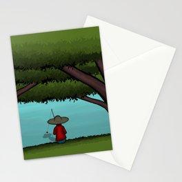 Gone Fishin Stationery Cards