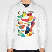 kitchen Hoodies featuring Still life from god's kitchen by Picomodi