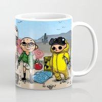 bouletcorp Mugs featuring Tribute by Bouletcorp