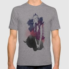 Stevie Nicks Mens Fitted Tee SMALL Tri-Grey
