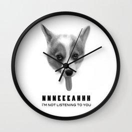 Corgi Meme Wall Clock