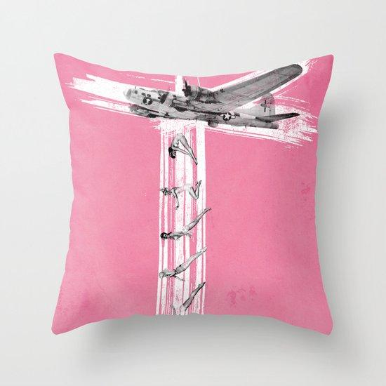 Bombs Away! Throw Pillow