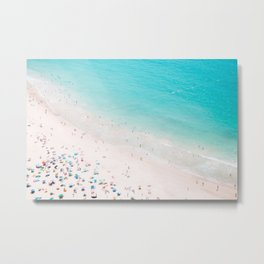 Beach Loving Metal Print