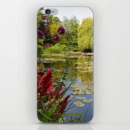Summer Water Garden iPhone Skin