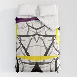 geometric architecture Comforters