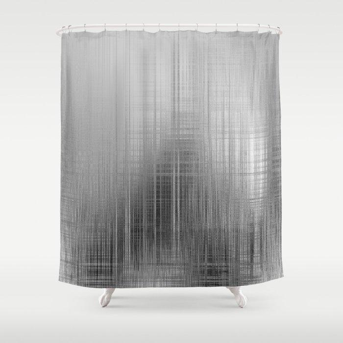 Shadow In The Rain Shower Curtain By Syellaartwork