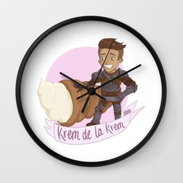 Aclassi Pastry Wall Clock