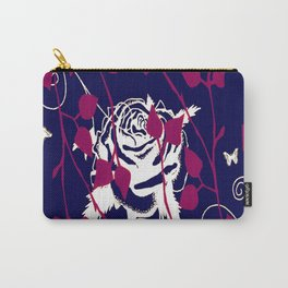 Lilac Deco ll Carry-All Pouch