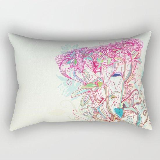 Floral clover Rectangular Pillow