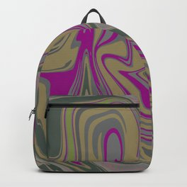 Distorted stripes in colour 2 Backpack