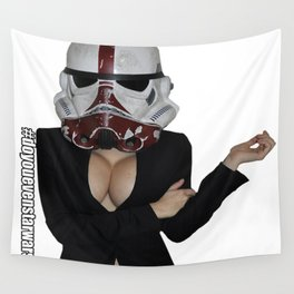 Office Trooper Wall Tapestry