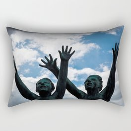 Brothers in Arms Rectangular Pillow
