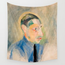 Igor Stravinsky (1882 – 1971) by Robert Delaunay in 1918 Wall Tapestry