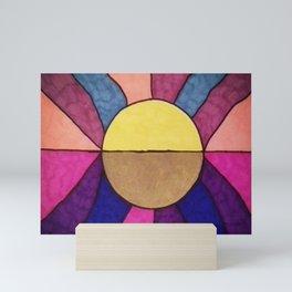 The Sun and the Moon Mini Art Print