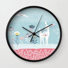 Secret meadow Wall Clock