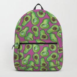 avocados in purple Backpack