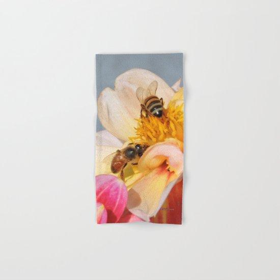 Honeybees at Work Hand & Bath Towel