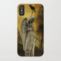 Golden Eclipse iPhone X Slim Case