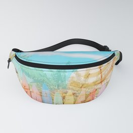 Beach Surf Layers Fanny Pack