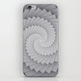 Abstract Spyral iPhone Skin