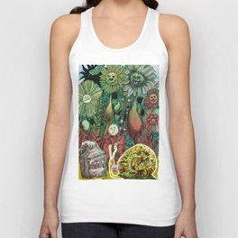 The case of The Wrong Feed On The Ol' Snail Trail... Unisex Tank Top