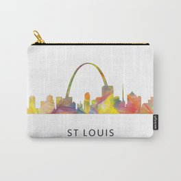 St Louis Missouri Skyline WB1 Carry-All Pouch