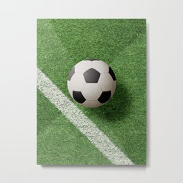 BALLS / Football Metal Print