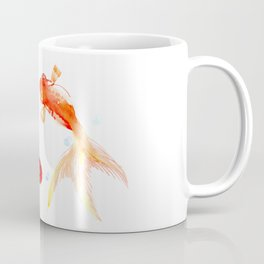 Goldfish, Two Koi Fish, Feng Shui, yoga Asian meditation design Coffee Mug