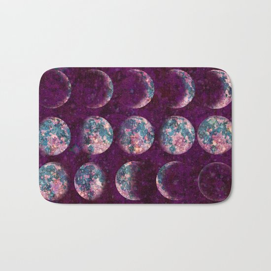 Celestial Moons Bath Mat