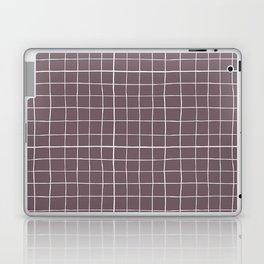 Dusty purple plaid Laptop & iPad Skin