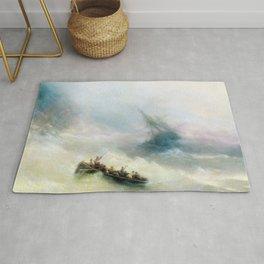 Ivan Aivazovsky - Rainbow Rug