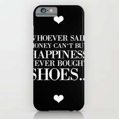 happiness black iPhone 6s Slim Case