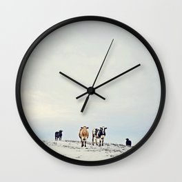 till the cows come home Wall Clock