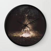 fairies Wall Clocks featuring Fairies by LauraWilliams95