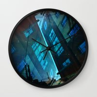 inception Wall Clocks featuring Inception. by Vanessa Furtado