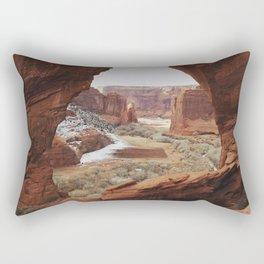 Window Rock Rectangular Pillow