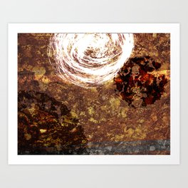 Natural Series - Atop the Waterfall Art Print