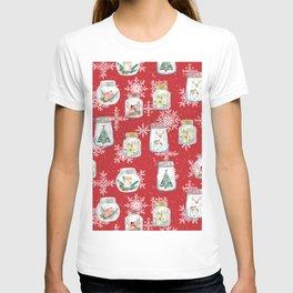 Christmas Jars T-shirt