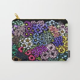 Midnight Blossoms Carry-All Pouch