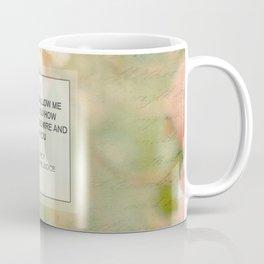 Mr. Darcy Proposal ~ Jane Austen Coffee Mug