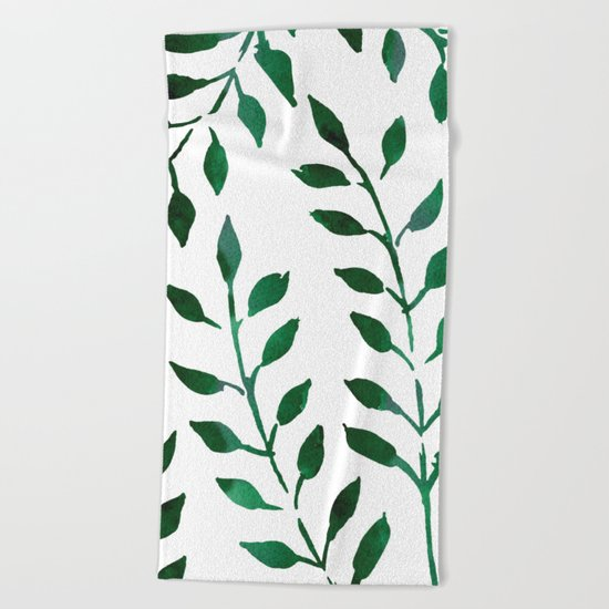 Botanical Beach Towel