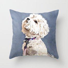 Beggin' for More Throw Pillow