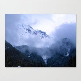 Mist Ridge Canvas Print