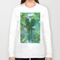 clown Long Sleeve T-shirts featuring Clown... by William Rutherford